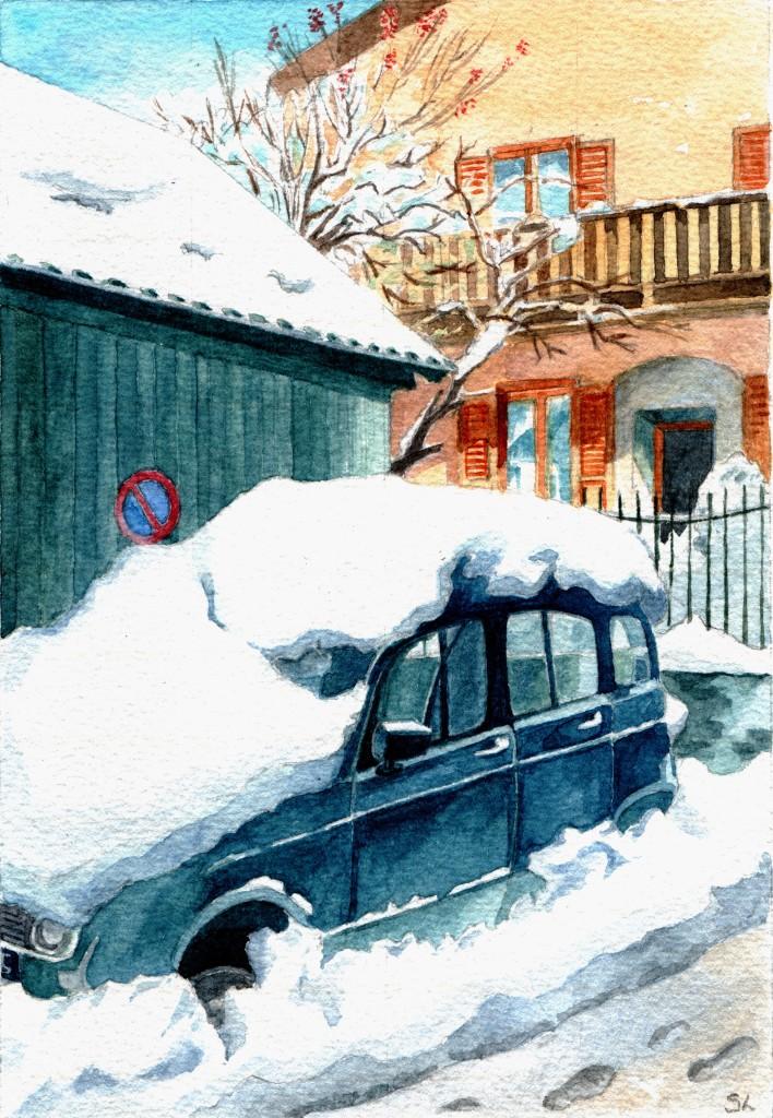 No Parking! St Chaffrey