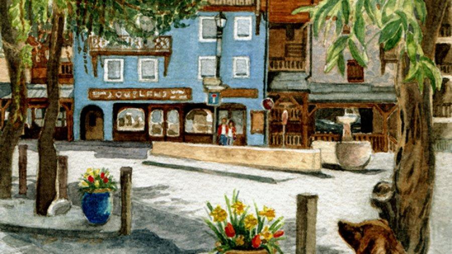 Rue de Centre, Chantemerle