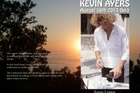 Kevin Ayers, August 16th 2013, Deia
