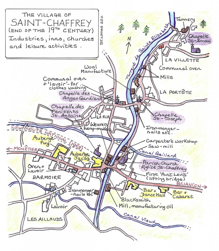 St Chaffrey 19th century