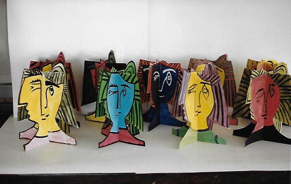 Year 9 Picasso 3D Heads