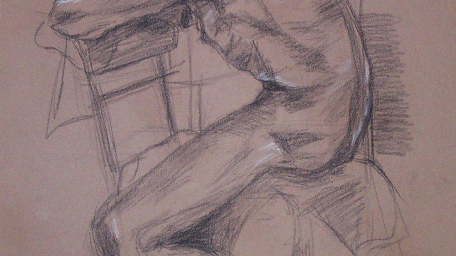 Male nude, 1983