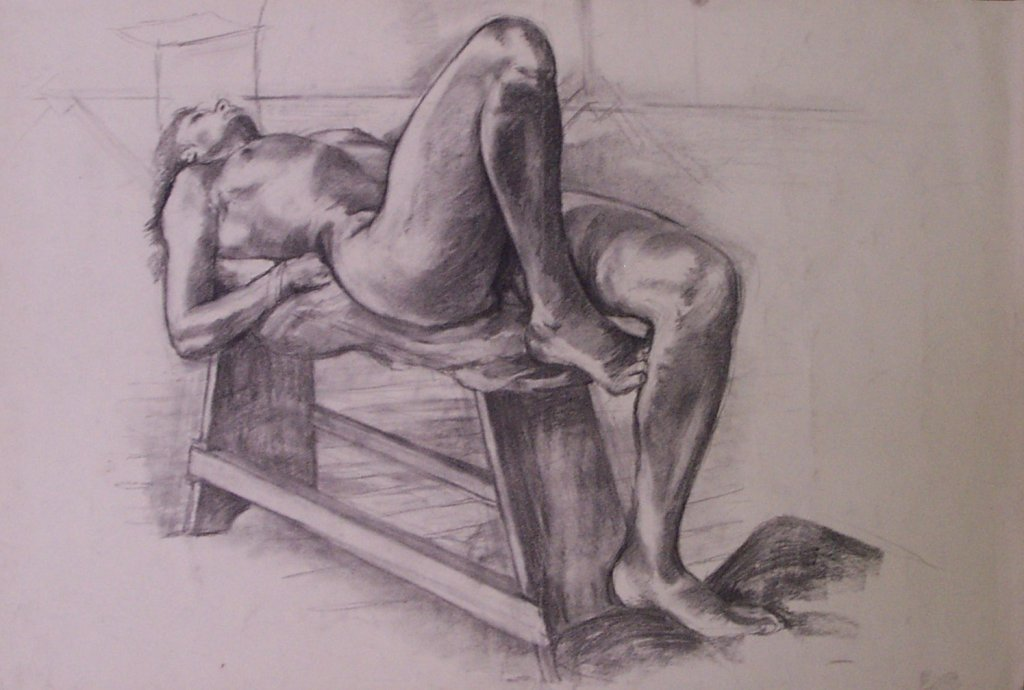 Reclining nude, 1983