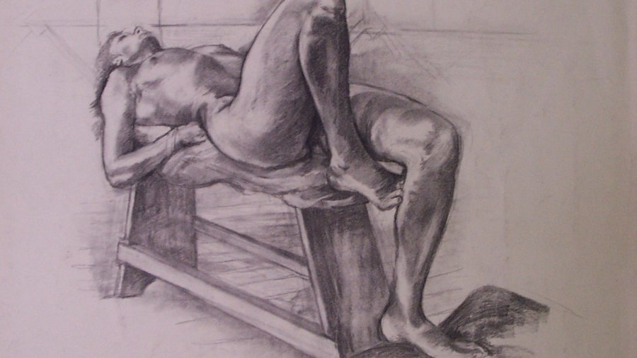 Reclining nude, 1984