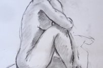 Life drawing – 20 minute pose